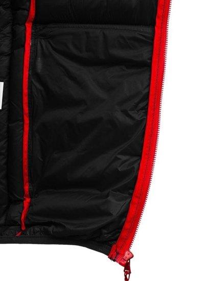 Kurtka męska zimowa sportowa czarna Denley SM50