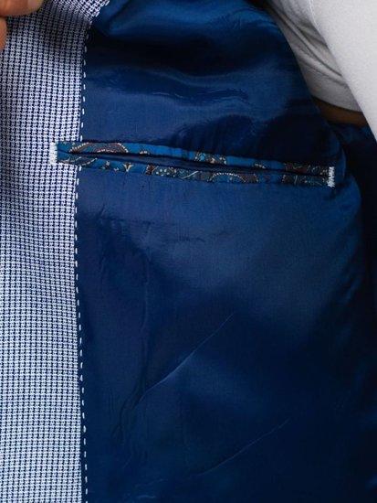Marynarka męska niebieska Denley 273