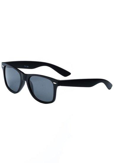 Okulary przeciwsłoneczne czarne Denley PLS865M