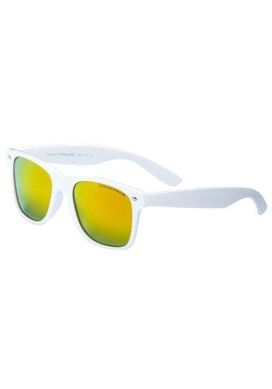 Okulary przeciwsłoneczne polaryzacyjne białe Denley PLS474