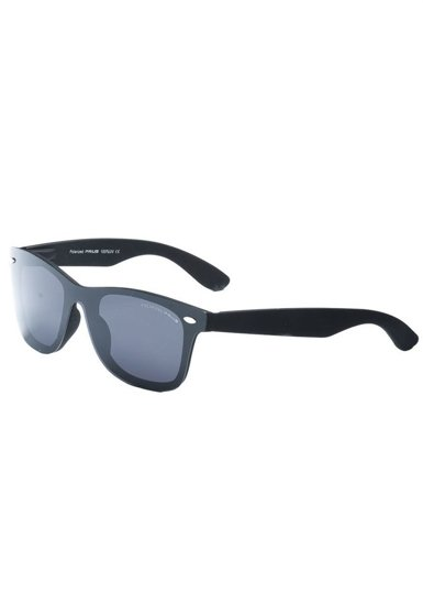Okulary przeciwsłoneczne polaryzacyjne czarne Denley PLS234B