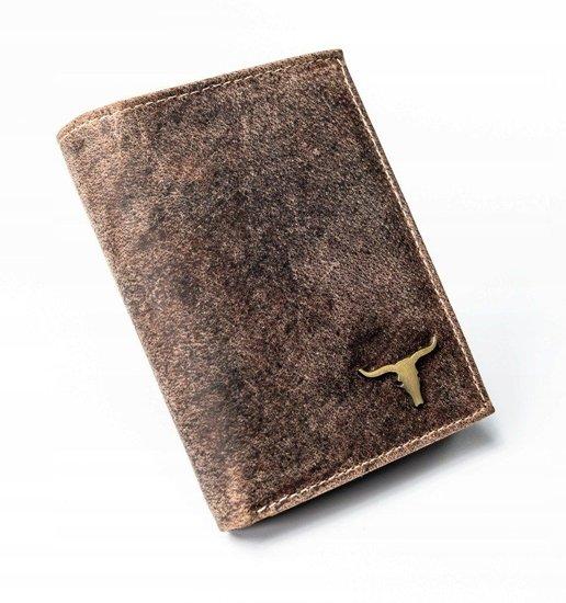 Portfel męski skórzany beżowy 1663