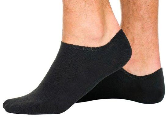 Skarpetki stopki męskie czarne Denley 01