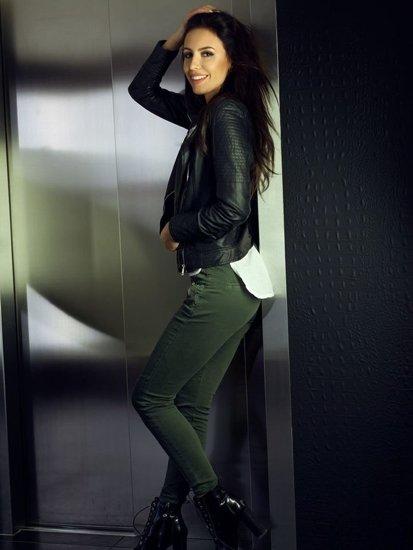 Stylizacja nr 104 - kurtka skórzana, spodnie jeansowe
