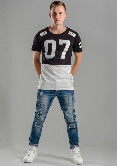 Stylizacja nr 59 - T-shirt, spodnie jeansowe