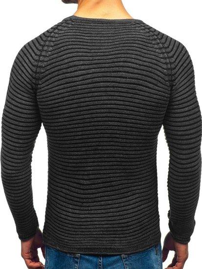 Sweter męski antracytowy Denley 152