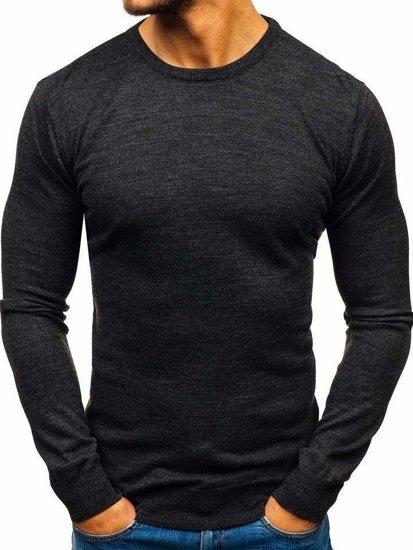 Sweter męski antracytowy Denley 2300