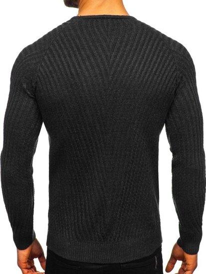 Sweter męski czarny Denley 285