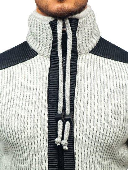 Sweter męski ecru Denley 20010