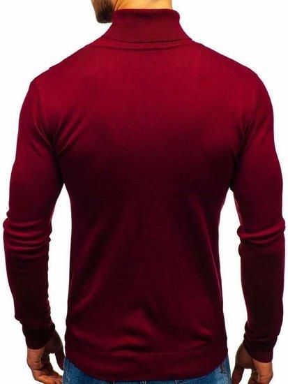 Sweter męski golf bordowy Denley 2400