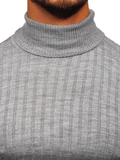 Sweter męski golf szary Denley 2002