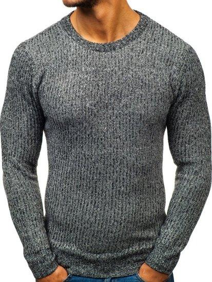 Sweter męski grafitowy Denley H1818