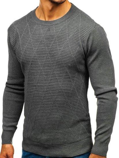Sweter męski grafitowy Denley H1825