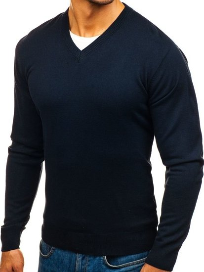Sweter męski granatowy Denley 200