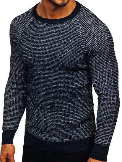 Sweter męski granatowy Denley H1932