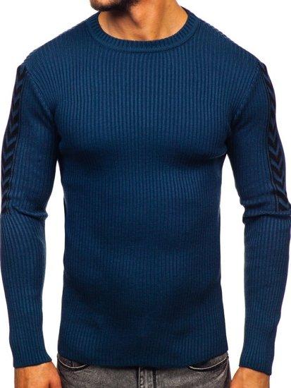 Sweter męski niebieski Denley 360