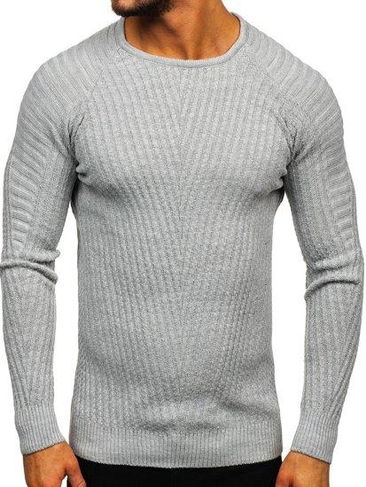 Sweter męski szary Denley 285