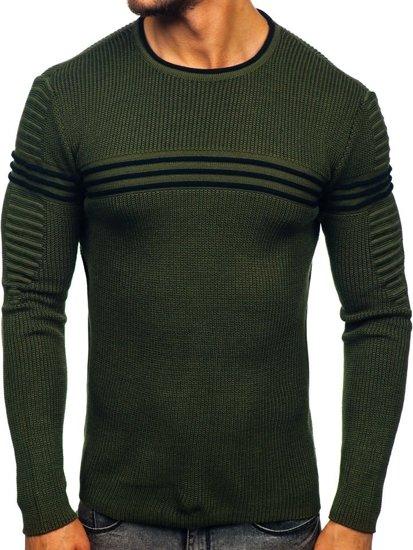 Sweter męski zielony Denley 0001