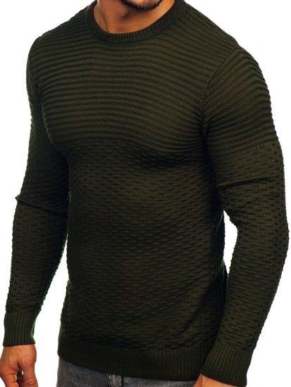 Sweter męski zielony Denley 319