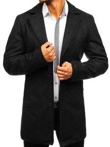 Płaszcz męski zimowy czarny Denley 5438
