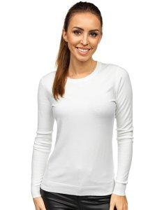 Biały sweter damski Denley CB95093C