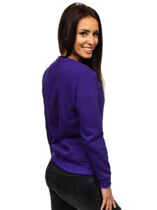 Bluza damska fioletowa Denley W01