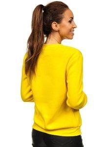 Bluza damska żółty-neon Denley W01