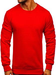 Bluza męska bez kaptura czerwona Denley 2001
