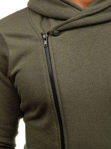 Bluza męska z kapturem khaki Bolf 05S