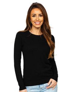 Czarny sweter damski Denley CB95093C