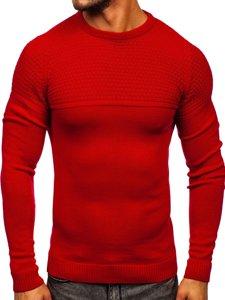 Czerwony sweter męski Denley 4623