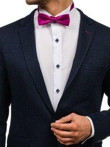 Elegancka mucha męska purpurowa Denley M001