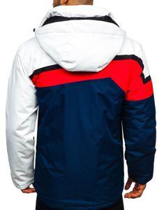 Kurtka męska narciarska czerwona Denley 1339