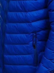 Kurtka męska przejściowa sportowa niebieska Denley SM70