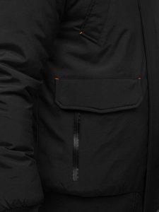 Kurtka męska zimowa czarna Denley 1770