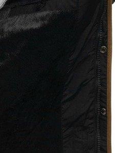 Kurtka męska zimowa czarna Denley 3087