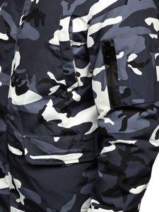 Kurtka męska zimowa moro-grafitowa Denley 2019M