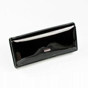 Portfel damski skórzany czarny 890