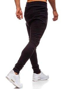 Spodnie dresowe baggy męskie czarne Bolf 43s-s