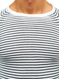 Sweter męski biały Denley 152