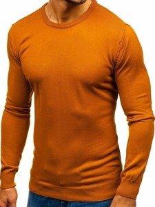 Sweter męski camelowy Denley 2300