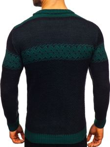Sweter męski czarny Denley 1806