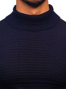 Sweter męski golf granatowy Denley 4518