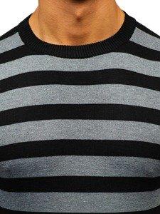 Sweter męski grafitowy Denley BM6129