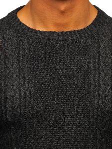 Sweter męski grafitowy Denley H1937