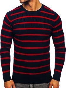 Sweter męski granatowy Denley 4356