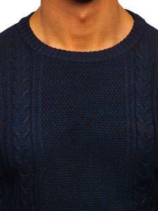 Sweter męski granatowy Denley H1937