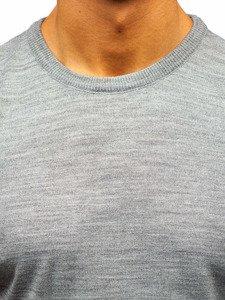 Sweter męski szary Denley 2300