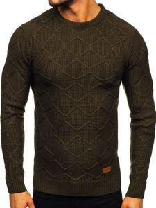 Sweter męski zielony Denley 1901
