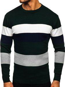 Zielony sweter męski Denley H2005